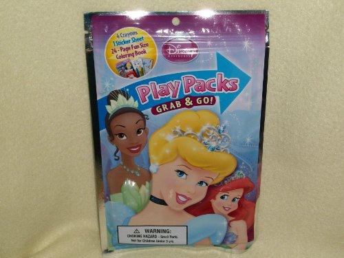 Disney Princess Play Packs Grab & Go