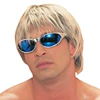 Adult Blonde with Brown Surfer Dude Costume Wig by Franco American