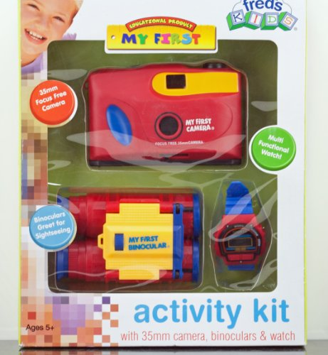 Fred'S Kids Activity Kit Camera, Binoculars & Watch