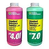 General Hydroponics Ph 4.01 & Ph 7.0 Calibration Solution Kit, 8 oz (Tamaño: Pint)