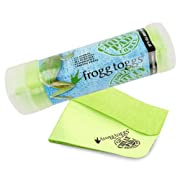 """Frogg Toggs 647484919239 Chilly Pad Cooling Towel, 32.5"""" Length x 12.25"""" Width, Lime Green"""