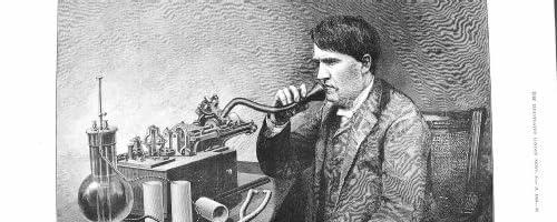 1888 のエジソン Speaking Perfected Phonograph 氏のアメリカ