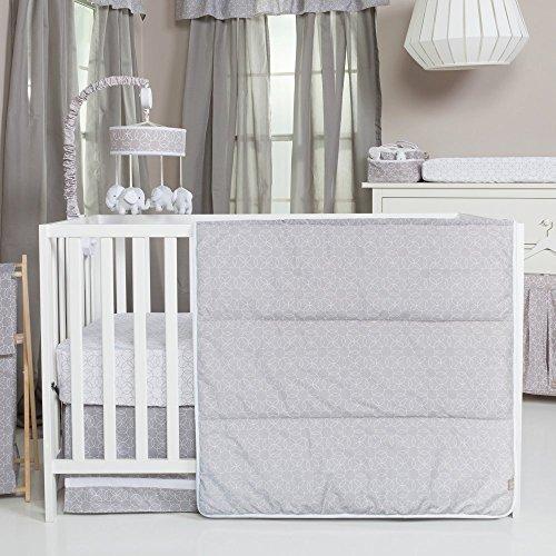 Trend-LabGray-and-White-Circles-3-Piece-Crib-Bedding-Set