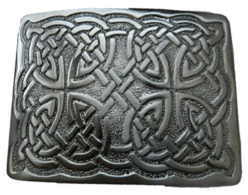 Scottish Kilt belt buckle #29 Antiqued Black Finish