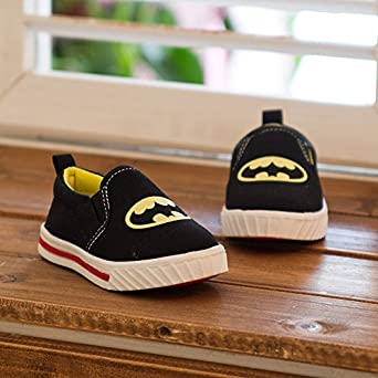 Children's Shoes for Boys and Girls ,Classic (Batman/superman/spiderman) Kids Sneakers Fashion Child Casual Shoes
