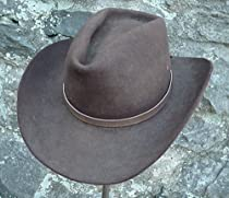 Western Hatband Hat Band Lt Brown Snake Skin W Ties New