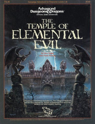 Temple of Elemental Evil (Advanced Dungeons & Dragons AD&D Supermodule T1-4)