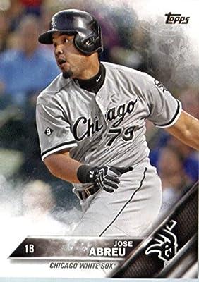 2016 Topps #173 Jose Abreu Chicago White Sox Baseball Card