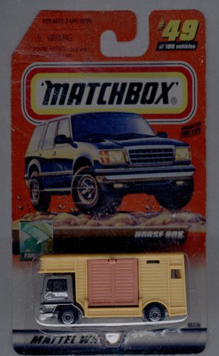 Matchbox 1999-49 of 100 Farming Horse BOX 1:64 Scale - 1