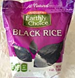 Natures Earthly Choice All Natural Black Rice / 4lbs., 1.81kg.