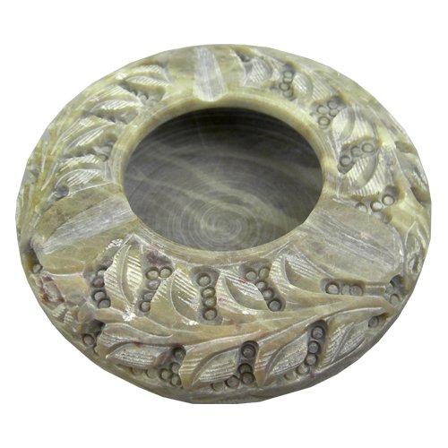 Large Soapstone Ashtray / Decorative Ash Trays