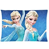 Frozen Disney 3D Cartoon Movie Custom Zippered Pillow Cases 20x30 (one side)- Custom Paradise