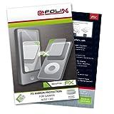 atFoliX Lámina protectora de pantalla FX-Mirror para Garmin nüvi 1300 - Protector de pantalla con efecto espejo.
