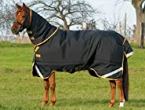 Big Sale Rambo by Horseware Supreme Light Weight Turnout Horse Blanket - Size:81 Color:Bl
