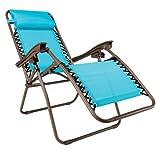 """Steel Relaxer, 43""""Hx25""""W, BLUE"""