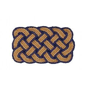 Tappeto zerbino in corda di canapa intrecciata arredamento for Amazon arredamento casa