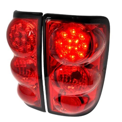 Chevy Gmc Blazer Jimmy Red Led Tail Lights