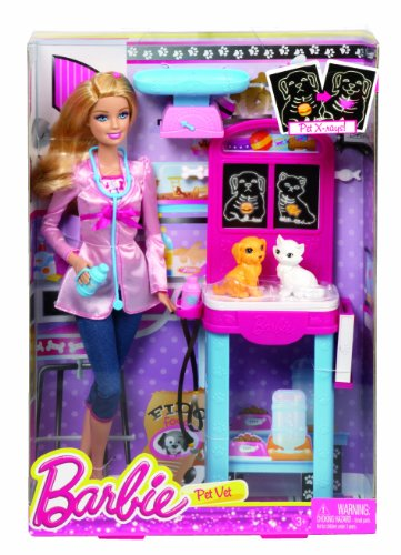 Barbie Careers Pet Vet Playset 746775306298 Toolfanatic Com