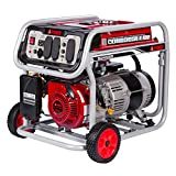 A-iPower 5,000-Watt Gasoline Powered Manual Start Generator with GFCI Outlets