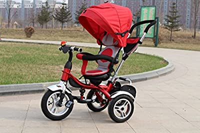 SmileAfresh Strolicycle- (Designer Lightweight Multi-purpose Baby Stroller/Tricycle Combination)- Designed to adjust with Baby Stages to above 5 years by HTC Plc that we recomend individually.