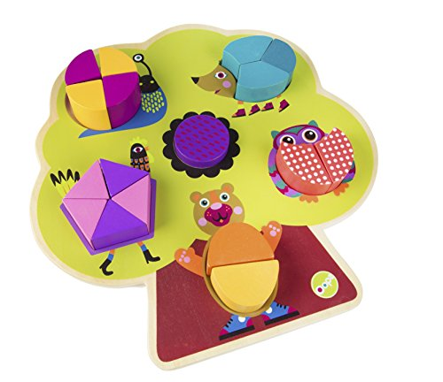 Oops Build a Tree Puzzle - Encourages Imaginative and Mental Development - Safe and Easy Clean - 17-Piece - Ages 3 and Up