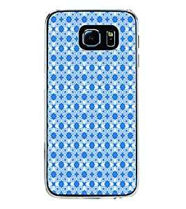 ifasho Modern Art Design Pattern with Lot Of small heart Back Case Cover for Samsung Galaxy S6 Edge