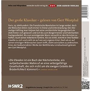 Die Elenden / Les Misérables  (Ungekürzte Lesung): 6 mp3-CDs