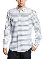 Springfield Camisa Hombre (Crudo / Gris)