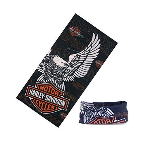 Spedito da ITALIA - Bandana protettiva scaldacollo Harley Davidson per moto