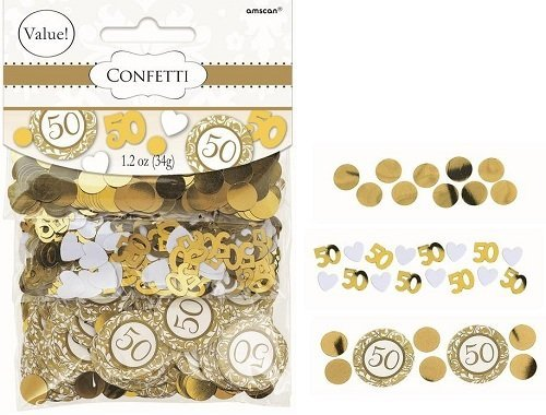 Best Deals! 50th Anniversary Confetti