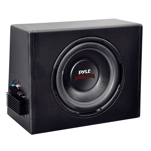 Pyle Plpr12A 12-Inch Slim Design Powered Subwoofer Enclosure System - Set Of 1