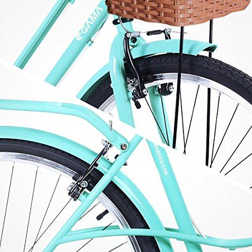 Gama Bikes Women's City Avenue Step-Thru 6 Speed Shimano Hybrid Urban Cruiser Commuter Road Bicycle, 26-inch wheels 3