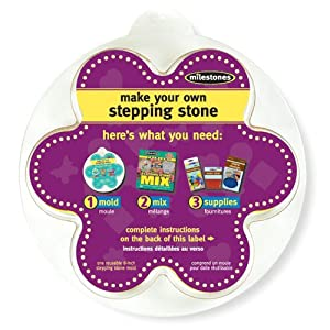 Midwest Products Small Flower Stepping Stone Mold, 8-Inch