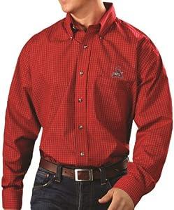 St. Louis Cardinals Red Esteem Long Sleeve Dress Shirt by Antigua