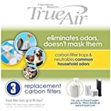 Hamilton Beach 04230G True Air Replacement Filter, 3-Pack