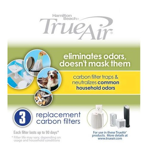 Hamilton Beach 04230G True Air Replacement Filter, 3-Pack (Hamilton Beach Replacement compare prices)