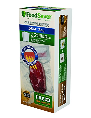 Foodsaver One-Gallon Dam Bags (Liquid Bag Sealer compare prices)