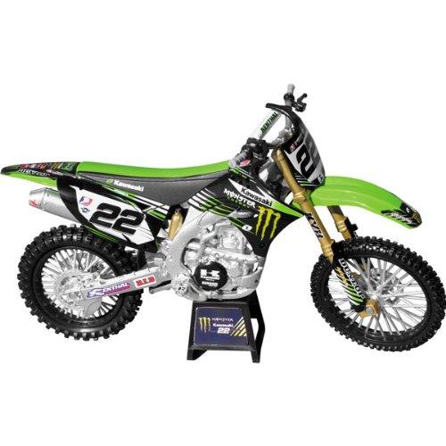 New Ray Ryan Villopoto Monster Energy Kawasaki Replica Motorcycle Toy