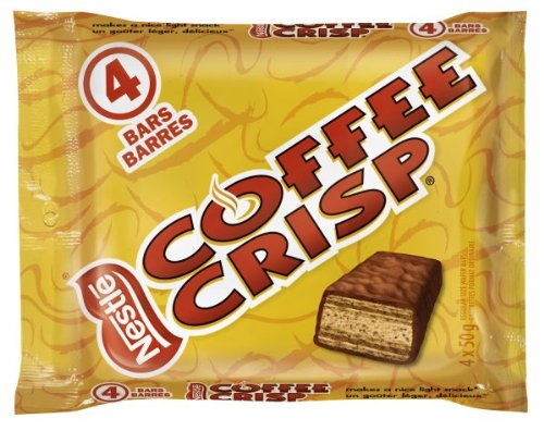 Coffee Crisp Chocolate, 4 x 50gm, Multipack