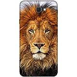 For Samsung Galaxy J7 (2017) Dangerous Lion ( Dangerous Lion, Lion, Cute Lion, Brown Lion ) Printed Designer Back Case Cover By FashionCops