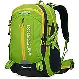 Doleesune 40l Hiking Pack Cycling Hiking Backpack Water-resistant Daypack 2387