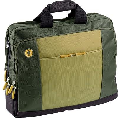"Falcon FI2534 Khaki shoulder 17"" laptop notebook briefcase bag by Falcon International"