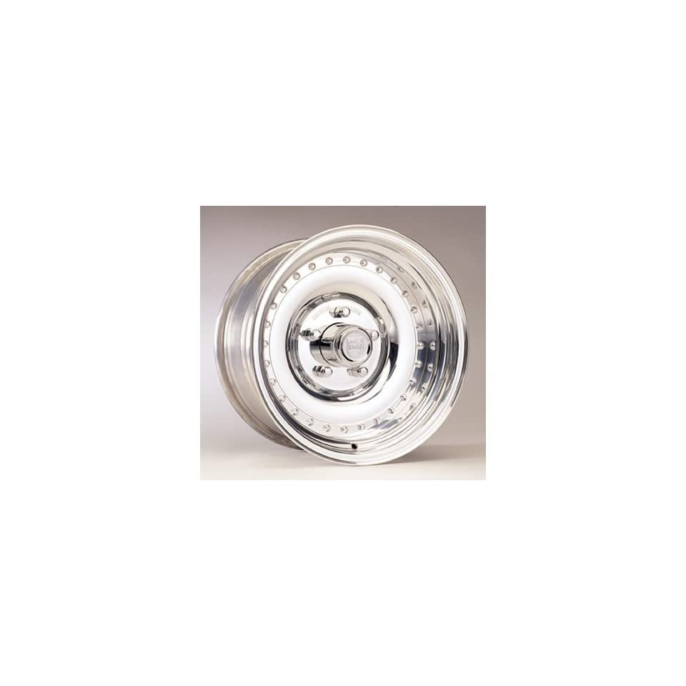 Center Line Wheels 175401547 Wheel, Auto Drag III, Aluminum, Polished, 15 in. x 4 in., 5 x 4.75 in. Bolt Circle, 1.625 in. Backspace, Each