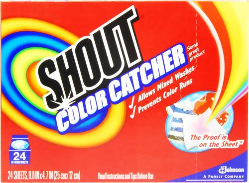 Shout Color Catcher Dye-Trapping In-Wash Cloths - 24 eaB0000DIWK3 : image