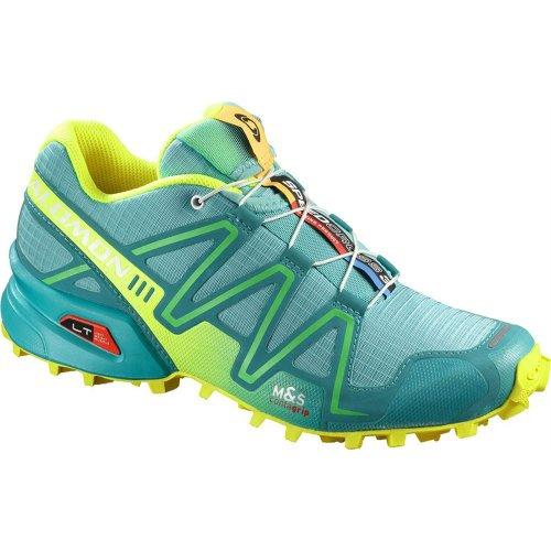 Salomon Running W'S Speedcross 3 W Blue/Yell 4d
