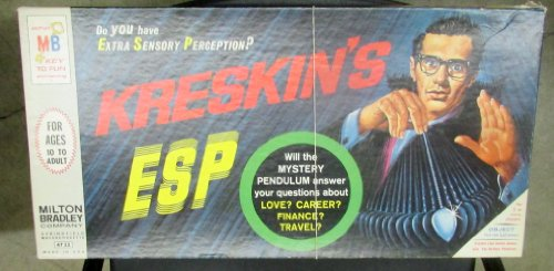 KRESKIN'S ESP [Do You Have Extra Sensory Perception?] Vintage 1966 - 1