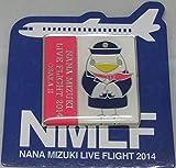 水樹奈々 【LIVE FLIGHT 2014】 ピンズ 大阪会場2日目限定