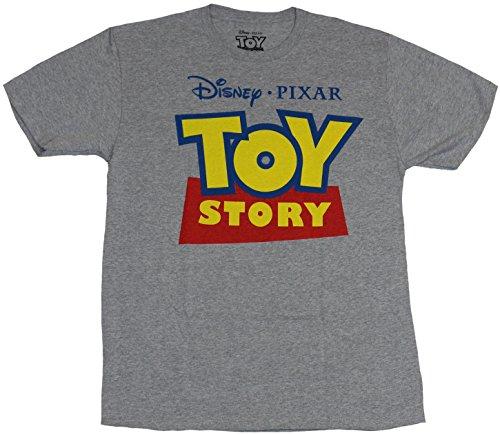 Toy Story Mens T Shirt Disney Pixar Toy Story Big Logo