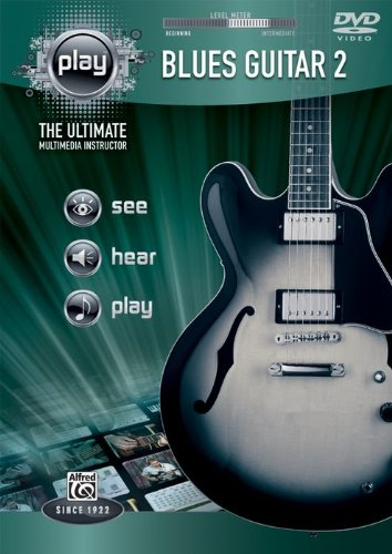 Alfred's Play Series Blues Guitar 2 [DVD] [Import]