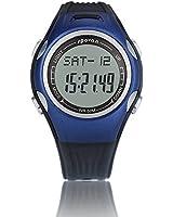 spovan® Multifunction PU Leather Watch 3D Smart Pedometer Calorie Mileage Smart Bike Outdoor Running Sports Watch